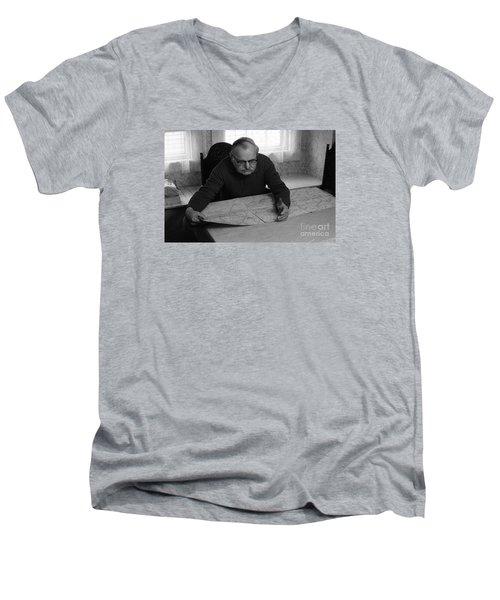 Uncle Charles Men's V-Neck T-Shirt