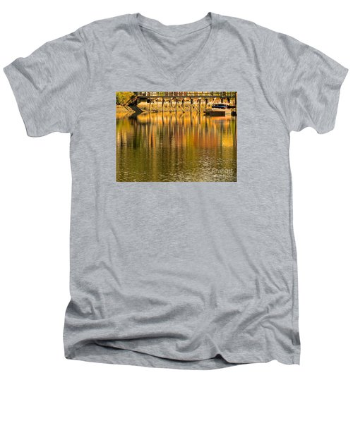 Under The Dock Men's V-Neck T-Shirt