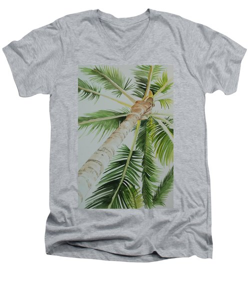 Under The Palm Men's V-Neck T-Shirt
