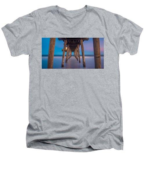 Under The Pier - Wide Version Men's V-Neck T-Shirt
