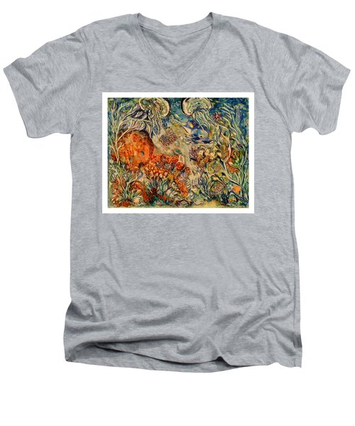 Undersea Friends Men's V-Neck T-Shirt