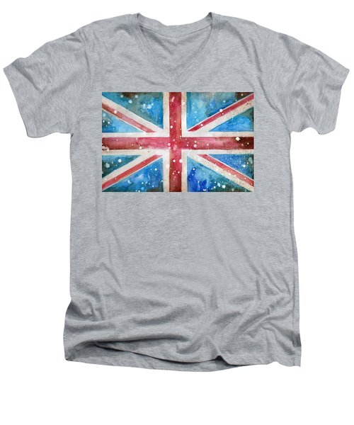 Union Jack Men's V-Neck T-Shirt