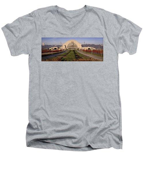Union Terminal Men's V-Neck T-Shirt