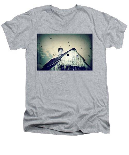 Unique Cupola Men's V-Neck T-Shirt