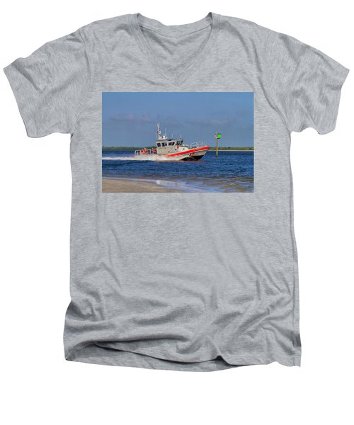 United States Coast Guard Men's V-Neck T-Shirt