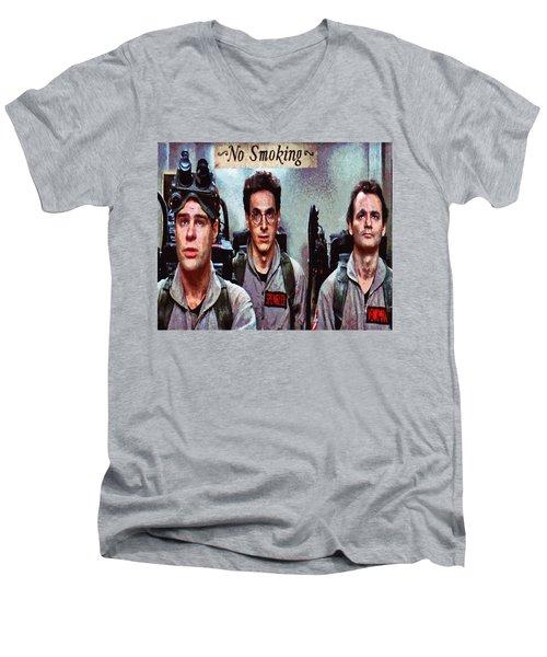 Unlicensed Nuclear Accelerator  Men's V-Neck T-Shirt