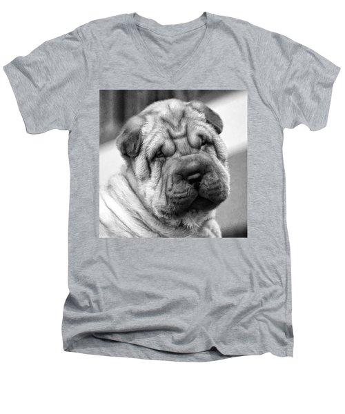 Unrefuseable Face Men's V-Neck T-Shirt