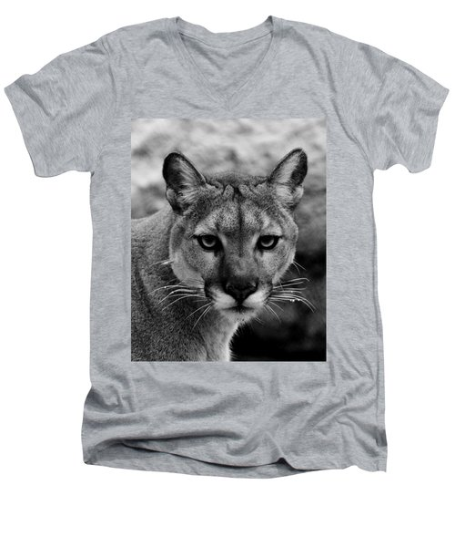 Untamed Men's V-Neck T-Shirt