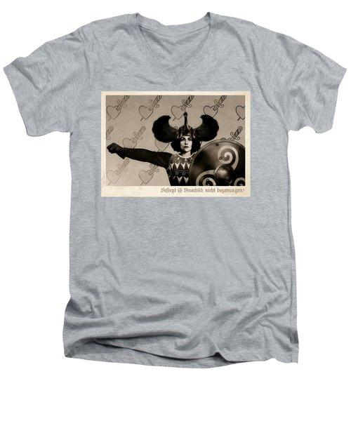 Unyielding Men's V-Neck T-Shirt