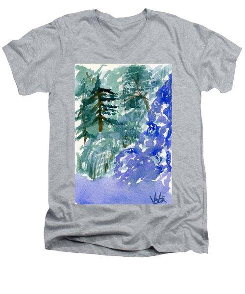 Up The Creek Men's V-Neck T-Shirt
