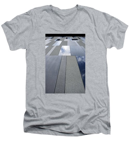 Up The Wall Men's V-Neck T-Shirt