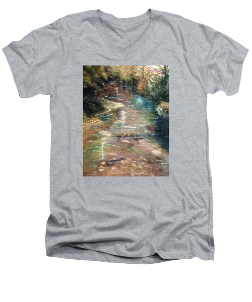 Upstream Men's V-Neck T-Shirt