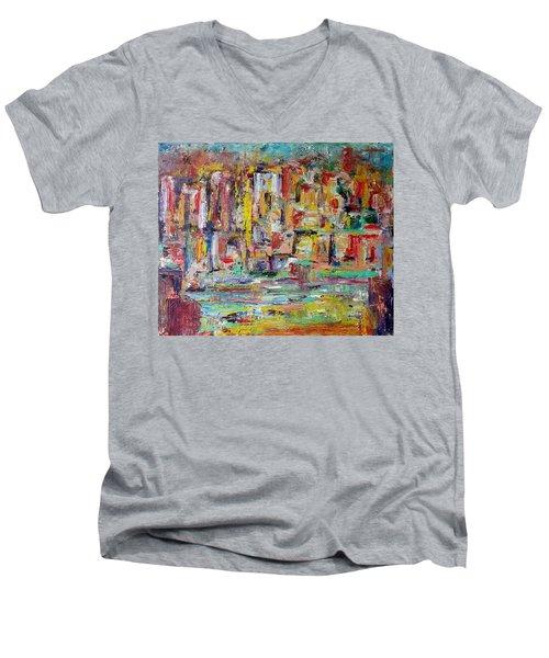Urban Landscape Men's V-Neck T-Shirt