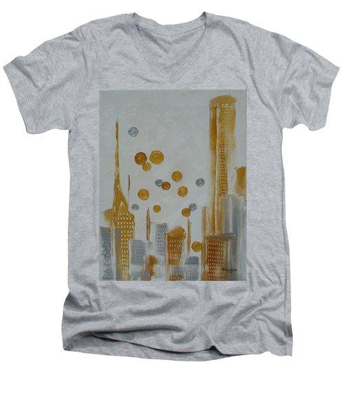 Urban Polish Men's V-Neck T-Shirt