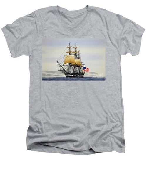 Uss Constitution Men's V-Neck T-Shirt