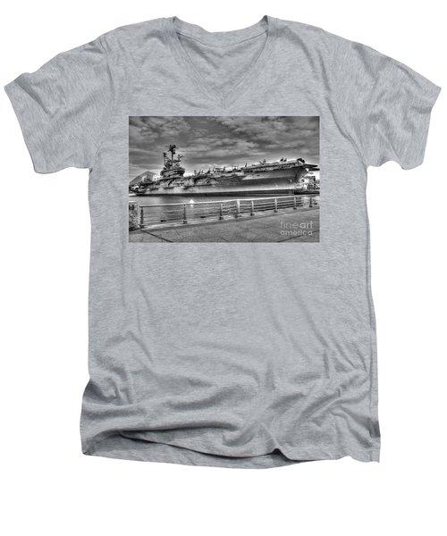 Uss Intrepid Men's V-Neck T-Shirt