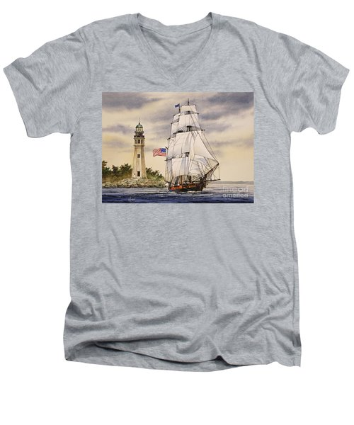 Uss Niagara Men's V-Neck T-Shirt