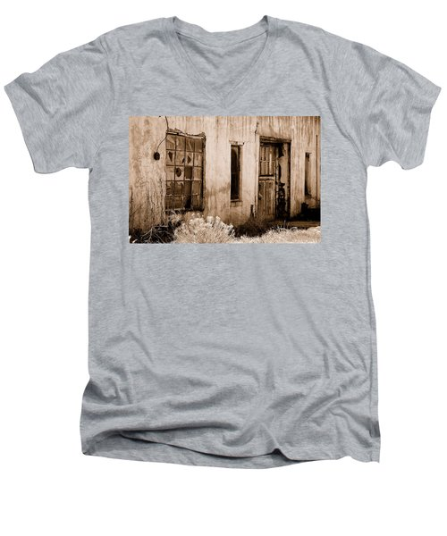 Vacancy Men's V-Neck T-Shirt by Holly Blunkall