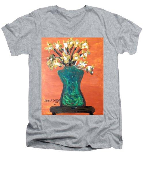 Vase Men's V-Neck T-Shirt