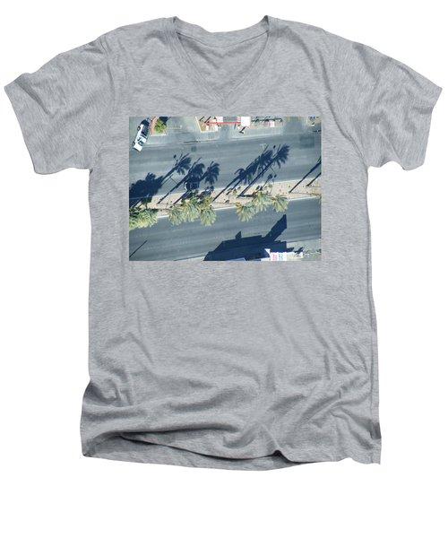 Veepalm Men's V-Neck T-Shirt by Brian Boyle
