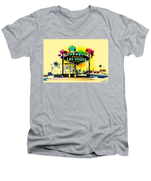Vegas Weekends Men's V-Neck T-Shirt