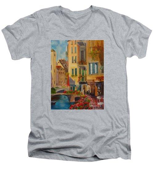 Venic Canal 1 Men's V-Neck T-Shirt