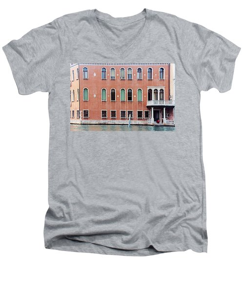 Venice Apartment Men's V-Neck T-Shirt