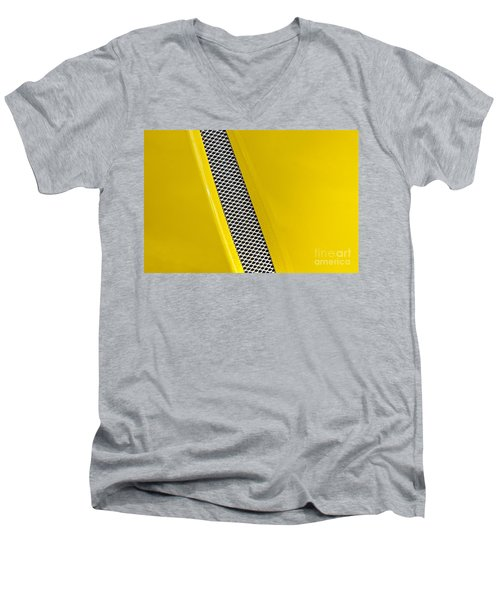 Men's V-Neck T-Shirt featuring the photograph Vented by Linda Bianic