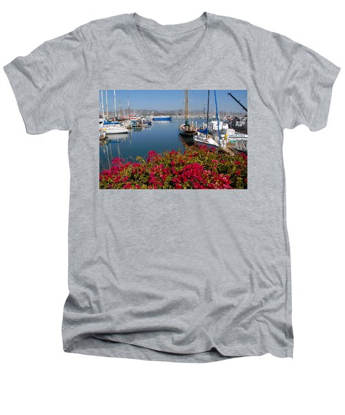 Ventura Harbor Men's V-Neck T-Shirt