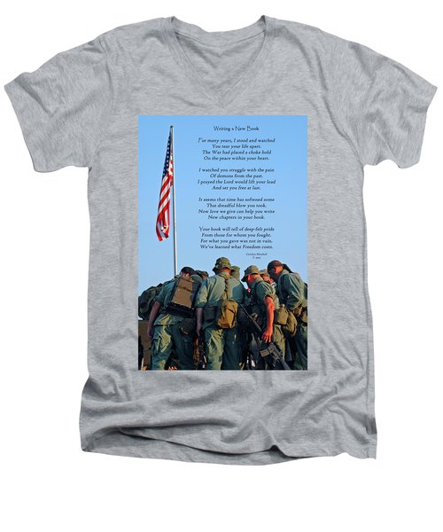 Veterans Remember Men's V-Neck T-Shirt