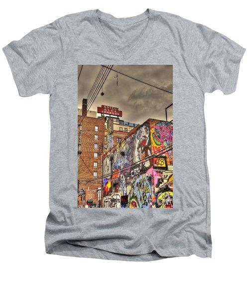 Vibrant Lodging Men's V-Neck T-Shirt