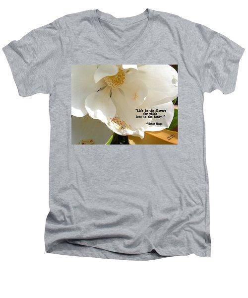 Victor Hugo 2 Men's V-Neck T-Shirt