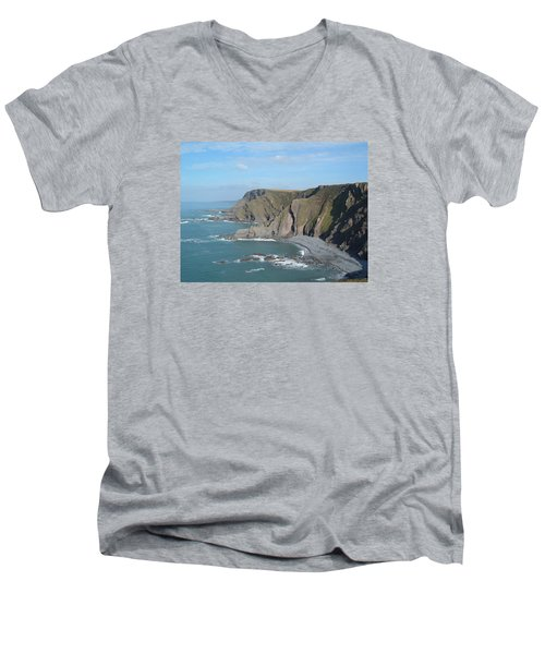 Higher Sharpnose Point Men's V-Neck T-Shirt