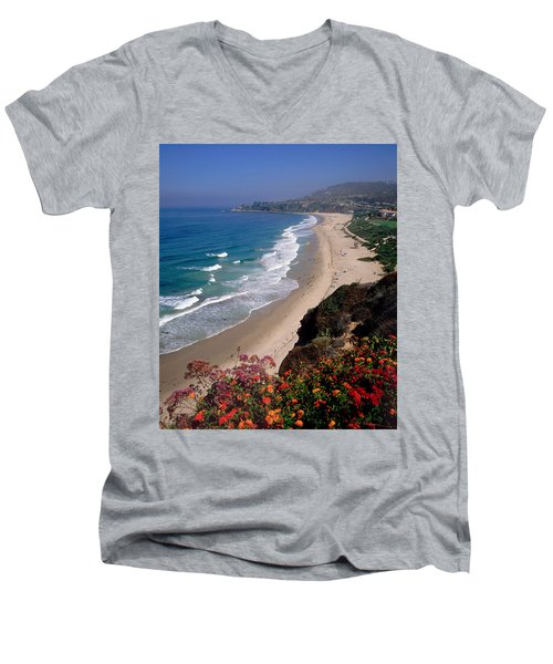View Of Salt Creek Beach Men's V-Neck T-Shirt