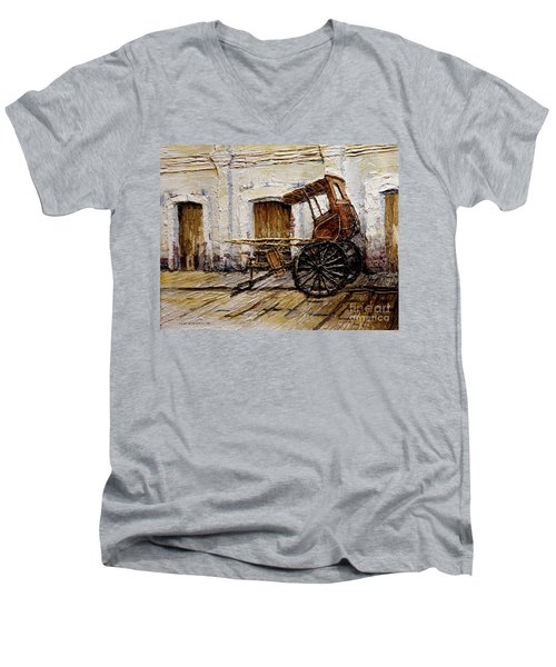 Vigan Carriage 1 Men's V-Neck T-Shirt