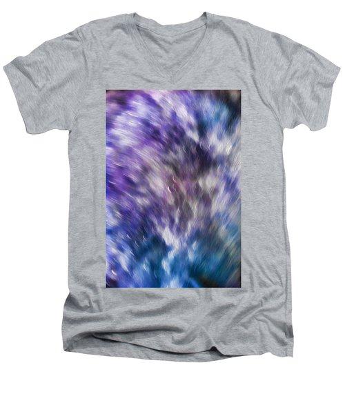 Violet Breeze Men's V-Neck T-Shirt