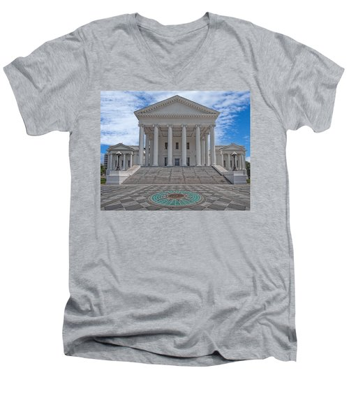 Virginia Capitol Men's V-Neck T-Shirt