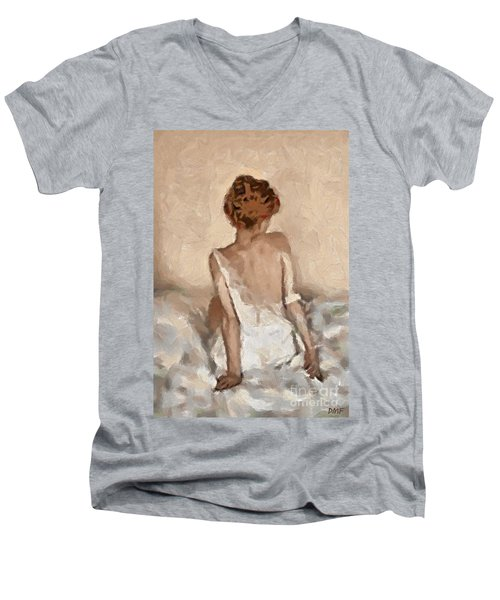 Virginity Men's V-Neck T-Shirt