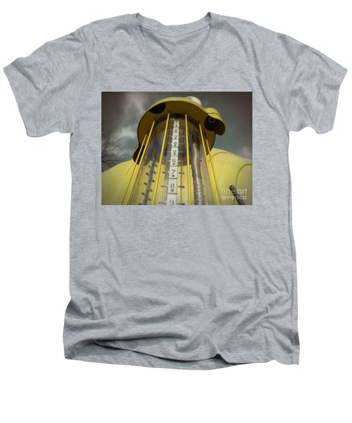 Visible Gas Pump Men's V-Neck T-Shirt