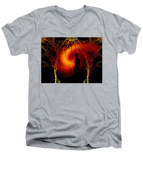 Visione Di Domani  Men's V-Neck T-Shirt