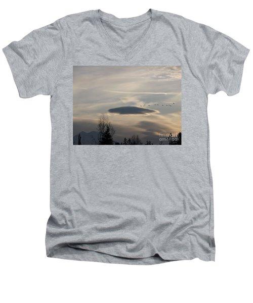 Visitors Men's V-Neck T-Shirt