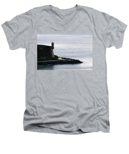 Vista De La Garita Men's V-Neck T-Shirt