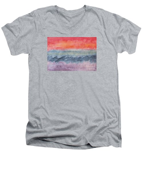 Voyage Men's V-Neck T-Shirt by Susan  Dimitrakopoulos
