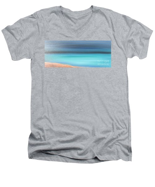 Waiting Men's V-Neck T-Shirt by Jacqueline Athmann