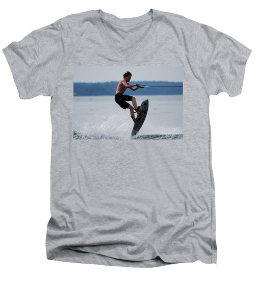 Wakeboarder Men's V-Neck T-Shirt