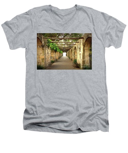Walk To The Light Men's V-Neck T-Shirt