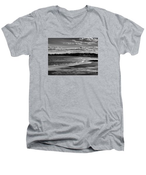 Wallis Beach Men's V-Neck T-Shirt