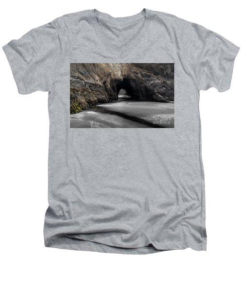 Walls Of The Cave Men's V-Neck T-Shirt