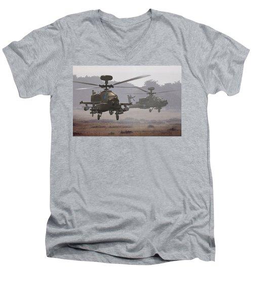 Waltz Of The Hunters Men's V-Neck T-Shirt