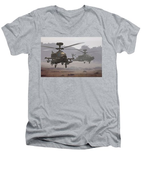 Waltz Of The Hunters Men's V-Neck T-Shirt
